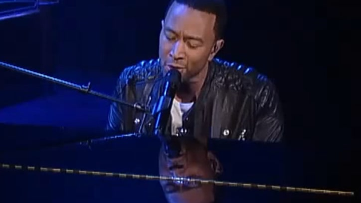 John Legend Offers 'All of Me' on 'Letterman'