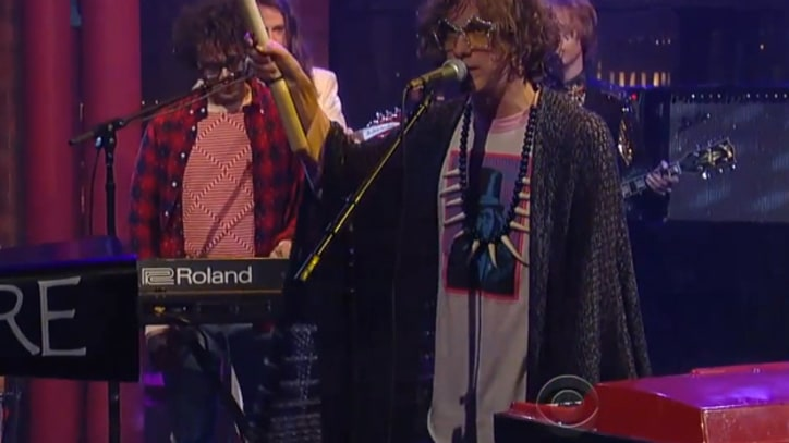 MGMT Bring More Cowbell to 'Letterman'