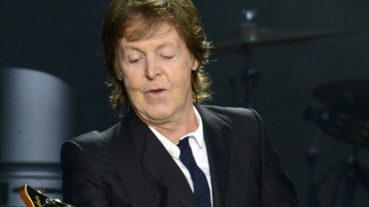 Paul McCartney Comes in With the 'New'