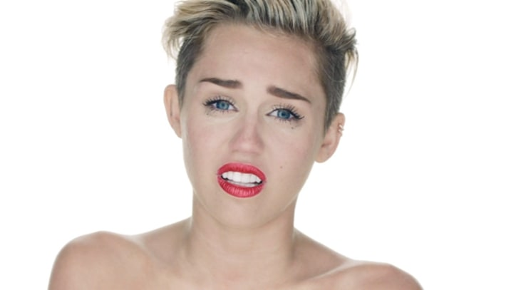Miley Cyrus Bares All for 'Wrecking Ball'