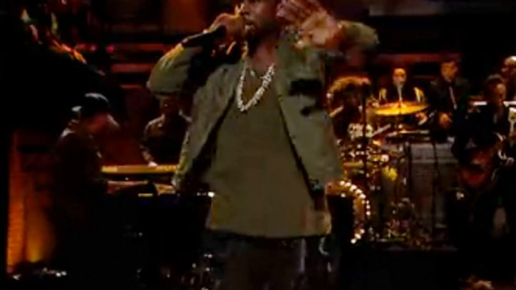Kanye West Performs 'Bound 2' on 'Fallon'