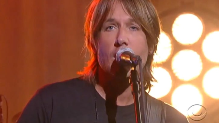 Keith Urban Offers Up 'Good Thing' on 'Letterman'