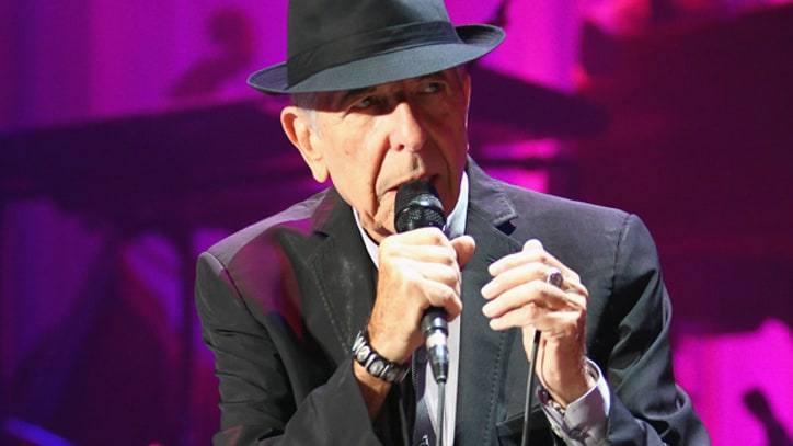 Leonard Cohen Debuts New Song In Ireland