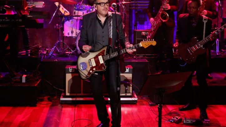 Elvis Costello and the Roots Stroll 'Uptown' on 'Fallon'