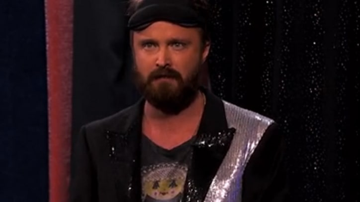 Aaron Paul Shows Off Hidden Talent on 'Kimmel'