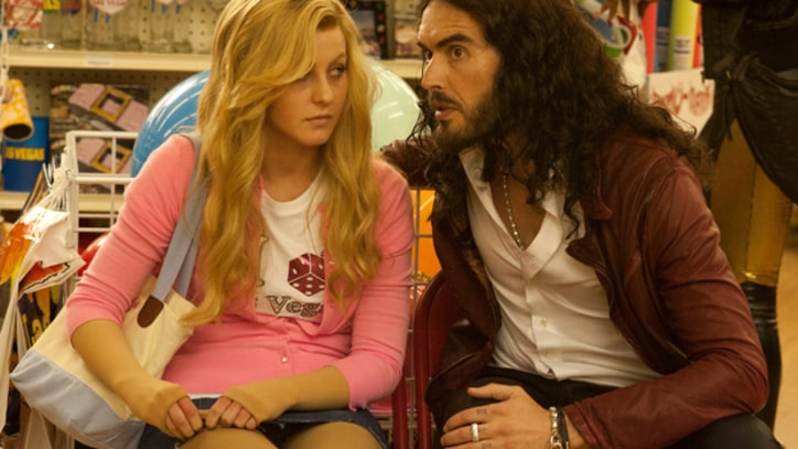 Russell Brand Teaches Julianne Hough the Ropes in 'Paradise'
