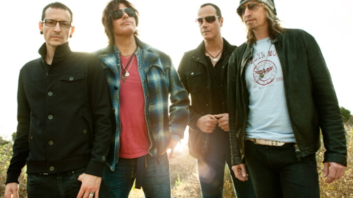 Stone Temple Pilots and Chester Bennington Join Forces on 'High Rise'