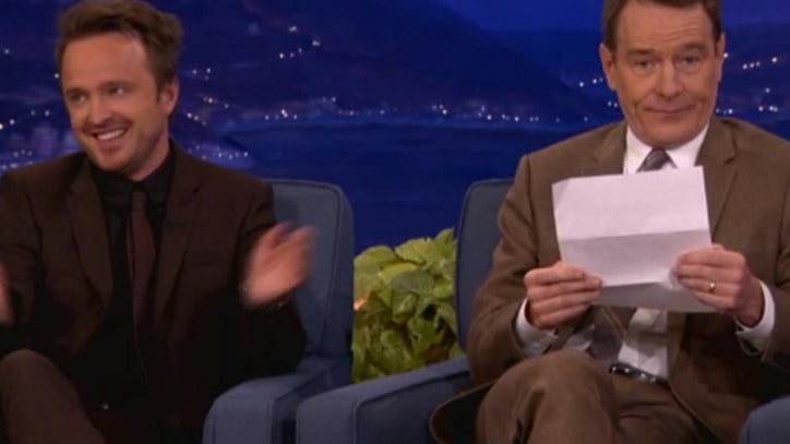 'Breaking Bad' Cast Takes Over 'Conan'