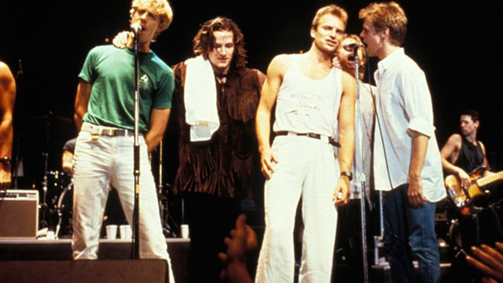 Flashback: The Police Pass Torch to U2