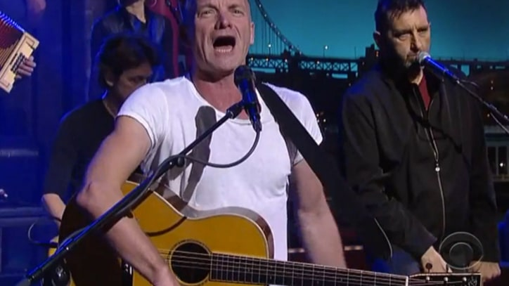 Sting Sets Sail With 'What Have We Got' on 'Letterman'