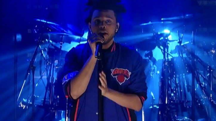 The Weeknd Radiates Emotion on 'Letterman'