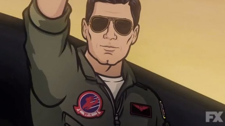 'Archer' Rides the Highway to the 'Danger Zone'