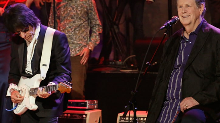Brian Wilson and Jeff Beck Team Up on 'Fallon'