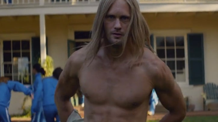 Alexander Skarsgard Sheds Robe in Cut Copy's 'Free Your Mind'