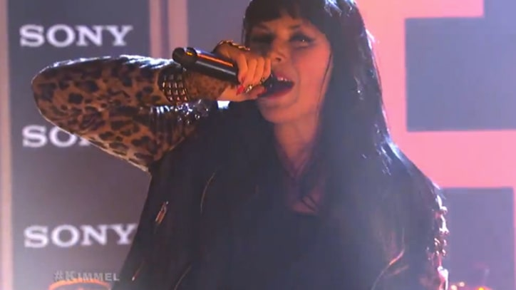 Sleigh Bells Thrash It Out on 'Kimmel'