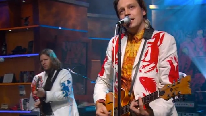 Arcade Fire Play a Pair of Songs on 'Colbert'