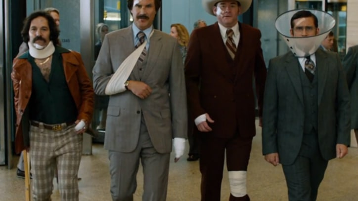 Ron Burgundy Plots Comeback in 'Anchorman 2' Trailer