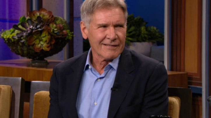 Harrison Ford Teases 'Star Wars' on 'Leno'