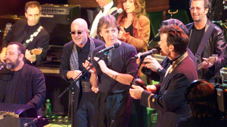 McCartney, Bono, Springsteen and Clapton Play 'Let It Be'
