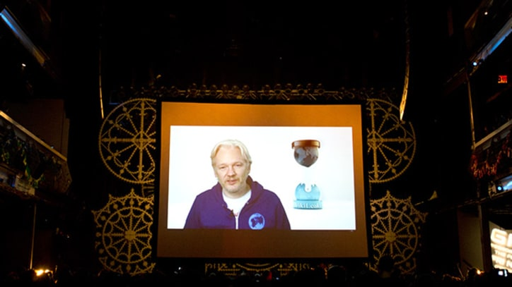 Julian Assange Opens M.I.A.'s New York Show