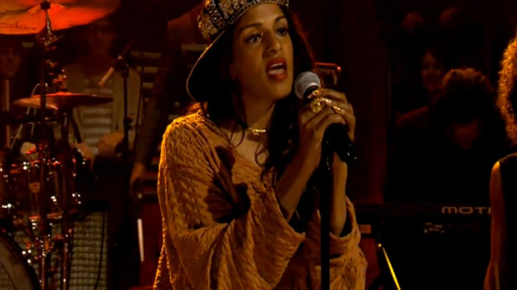 M.I.A. Plays 'Come Walk With Me' on 'Fallon'