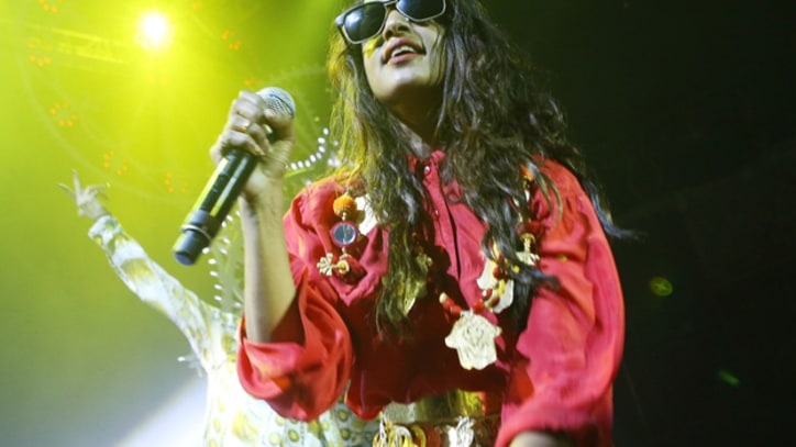 M.I.A. Dances Through Smoke With 'Y.A.L.A.' on 'Conan'