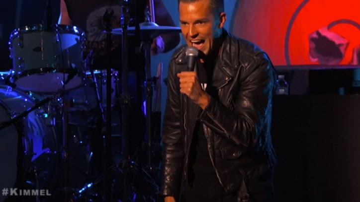 The Killers Roll Out the Hits on 'Kimmel'