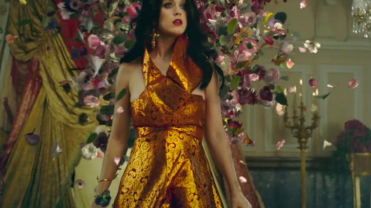 Katy Perry Braves Fire and Ice in 'Unconditionally'