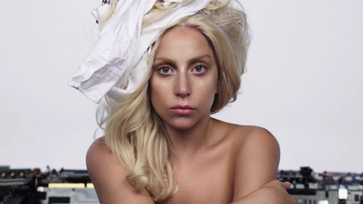 Lady Gaga Bares All in 'Artpop' Video