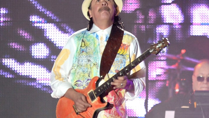 Santana Cuts Loose in New Song 'La Flaca'