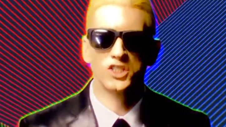 Eminem Teases 'Rap God' Clip With Max Headroom Riff