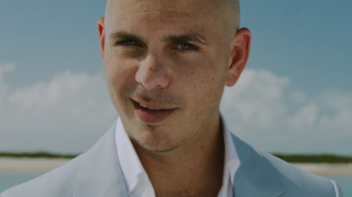 Pitbull and Ke$ha Yell 'Timber' in Surreal New Clip