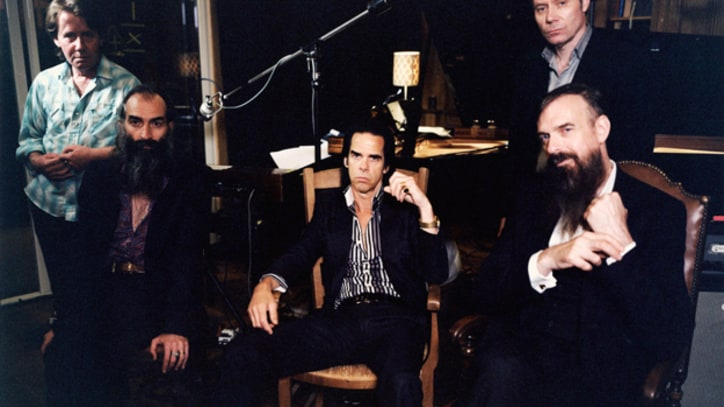 Nick Cave Dreams of Miley Cyrus in 'Higgs Boson Blues'