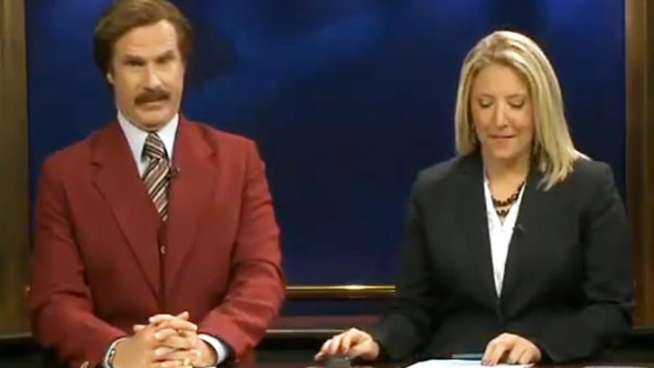 Will Ferrell Anchors a North Dakota News Broadcast as Ron Burgundy