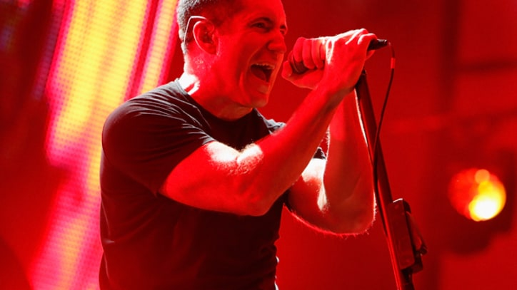 Go Behind the Scenes of Nine Inch Nails' International Tour