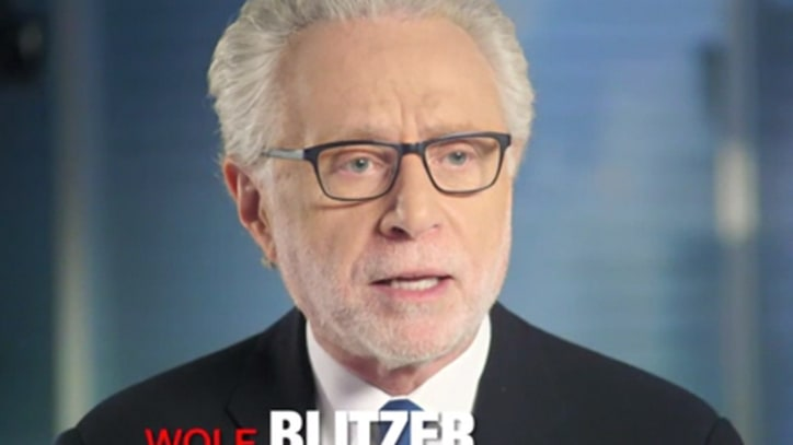 Anderson Cooper, Wolf Blitzer Discuss Ron Burgundy's Journalism Ethics
