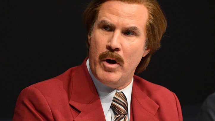 Ron Burgundy and Robin Thicke Cover Christopher Cross