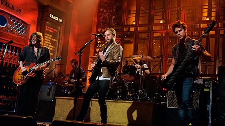 Kings of Leon Lock in on 'SNL'