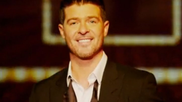 Robin Thicke Knows How to 'Feel Good'