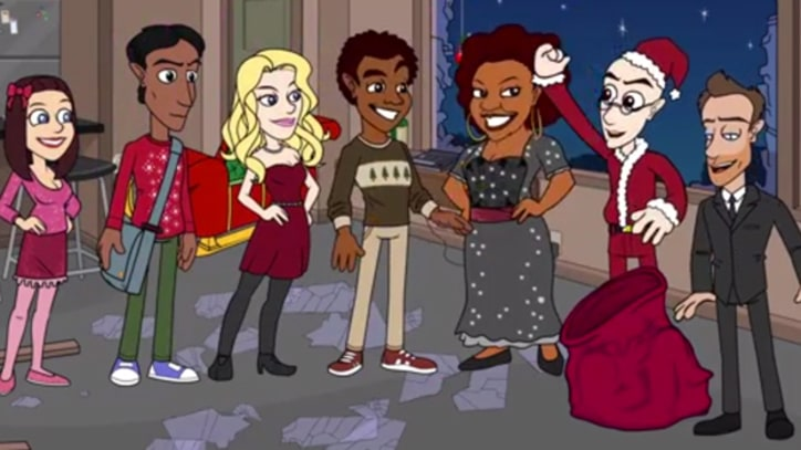 'Community' Crew Gets Animated in New Christmas Clip