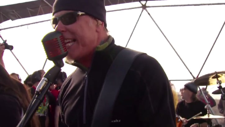 Watch Metallica's Blistering Antarctica Show