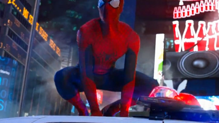 Spider-Man and Electro Brawl in New 'Amazing Spider-Man 2' Teaser