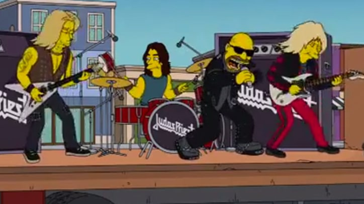 Judas Priest Un-Break the Law in 'Simpsons' Cameo