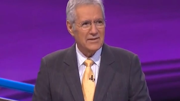Alex Trebek Raps on 'Jeopardy'