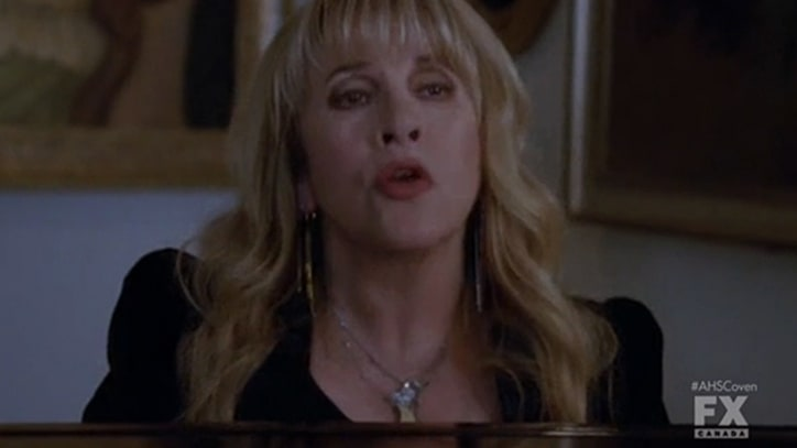 Stevie Nicks Serenades the 'Coven'