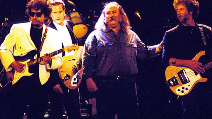 The Byrds Reunite to Play With Bob Dylan in 1990