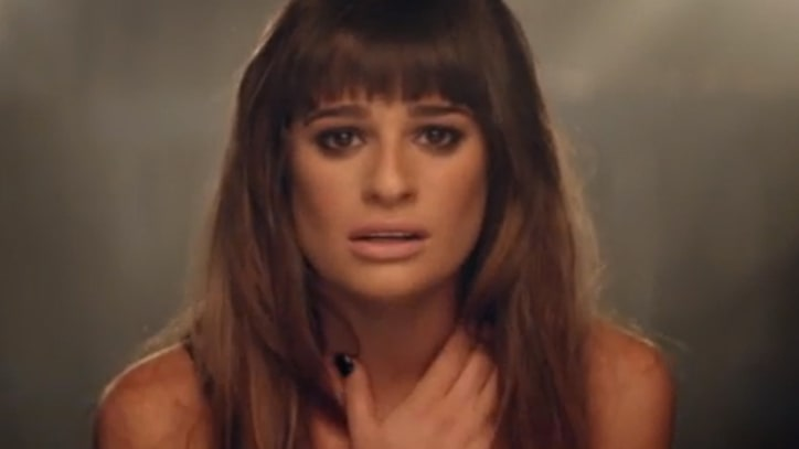Lea Michele Goes to That Dark Place in 'Cannonball'