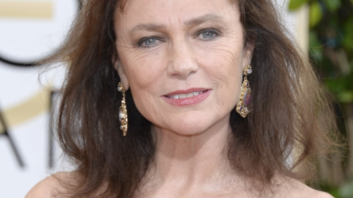 Jacqueline Bisset Delivers Golden Globes' First Viral Moment