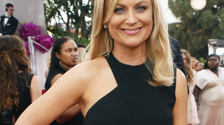 See Bono and Amy Poehler's Unexpected Golden Globes Makeout