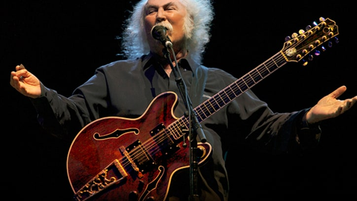 David Crosby 'Stoked' About New Album - Premiere